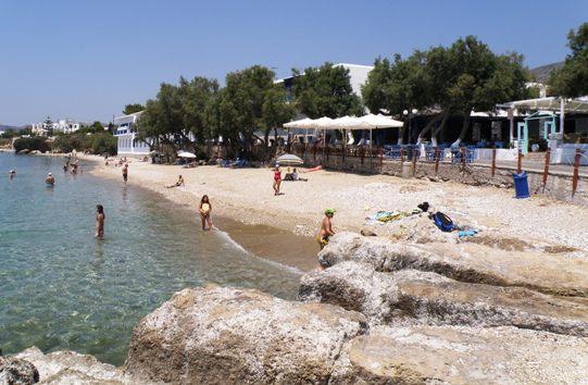 Drios beach, Paros rock grooves