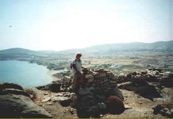 Mycenaean acropolis on Paros