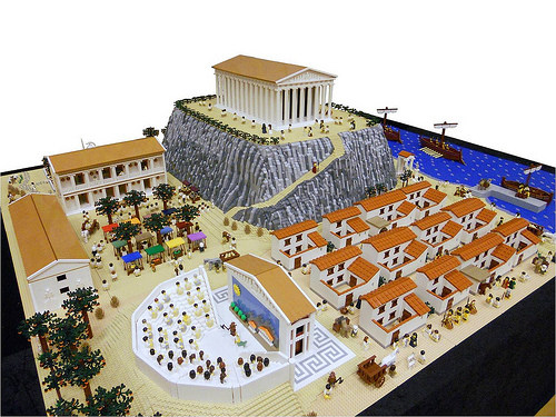 Lego ancient Greece