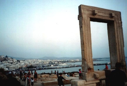 ancient arch on Naxos