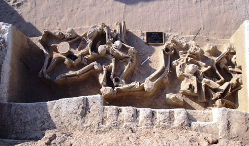 shackled skeletons from Phaleron