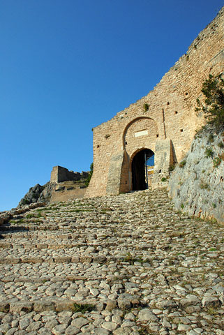 Acrocorinth entrance