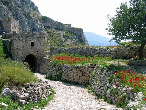 Acrocorinth roadway