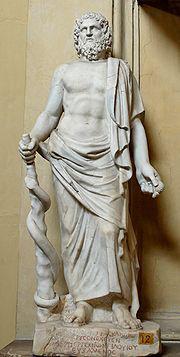 Asklepios statue