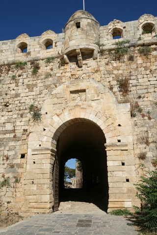 Gateway to the old Venetian fortress