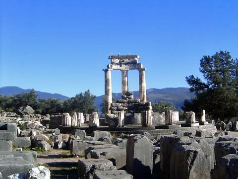 Tholos, Delphi