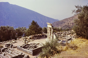 view of treasuries, Delphi