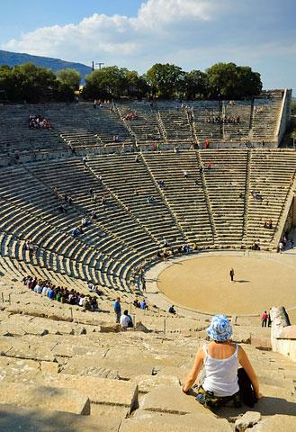 Epidavros, Epidaurus theatre sound