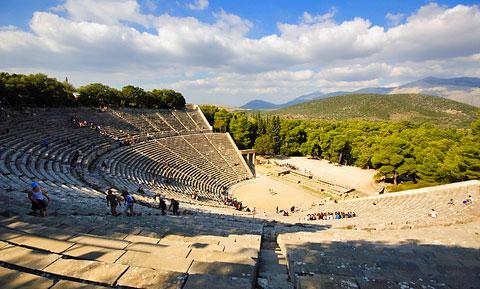 Epidauros, Epidavros, Epidaurus theatre