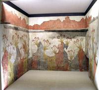 Santorini (Thera) frescoes