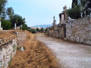 Ancient street Kerameikos