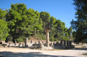 Temple of Hera seen from the west