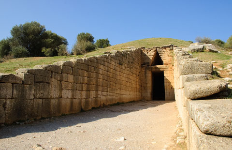 The Tomb of Agamemnon, or Treasury of Atreus, or ?