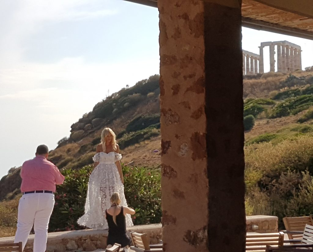 Sounion wedding model