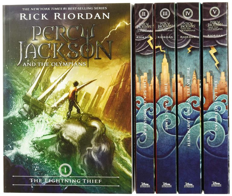 5 book series of Percy Jackson